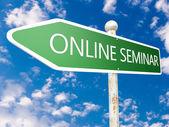 Online Seminar — Stock Photo