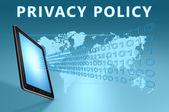 Informativa sulla privacy — Foto Stock