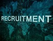 Recruitment — Stockfoto