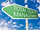 Celkové kvality řízení — Stock fotografie