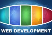 Web-entwicklung — Stockfoto