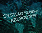 Systems Network Architecture — Stock Photo