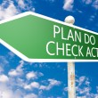 Plan Do Check Act — Stock Photo #59118909
