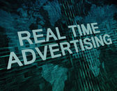 Real Time Advertising — Stock Photo