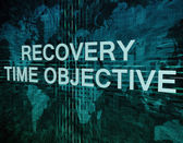 Recovery Time Objective — Stock Photo