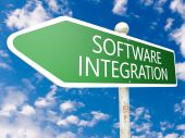 Integracja oprogramowania — Zdjęcie stockowe