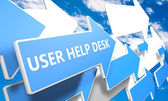 User Help Desk — Stock Photo