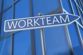 Workteam — Stock Photo