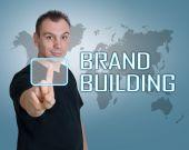 Brand Building — Stock Photo