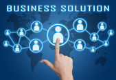 Business Solution — Stock Photo