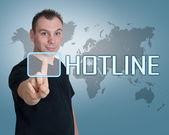Hotline — Stock Photo