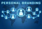 личный брендинг — Стоковое фото
