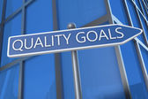Quality Goals — Stock Photo