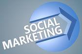 Social Marketing — Stock Photo