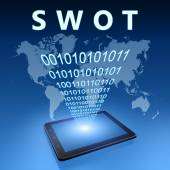 SWOT Concept — Stock Photo