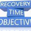 Recovery Time Objective — Stock Photo #61926765