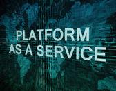 Platform as a Service — Stock Photo