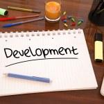发展ανάπτυξη — 图库照片 #62444283