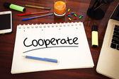 Cooperate — Stock Photo