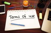 Terms of use — Stock Photo