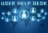 User Help Desk — Stock Photo