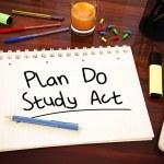 Plan Do Study Act — Stock Photo #73019013