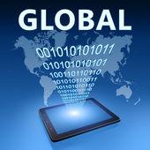 Globalne — Zdjęcie stockowe