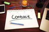 Contact — Stock Photo
