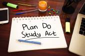Plan Do Study Act — Stock Photo