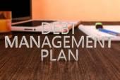Debt Management Plan — Stock Photo