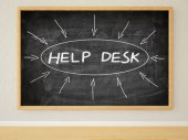 Help Desk — Stock Photo