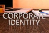 Identidad corporativa — Foto de Stock