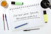 Corporate Social Responsibility — Stock Photo