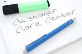 Centro de atendimento ao cliente — Fotografia Stock