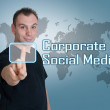 Corporate Social Media — Stock Photo #77284340