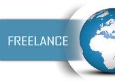Freelance — Stock Photo