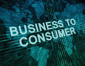 Business to Consumer — Stock Photo