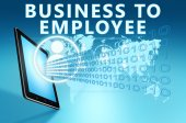 Business to Employee — Stock Photo
