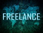 Freelance — Stock Photo