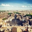 Vatican square of saint Peter — Stock Photo #51894505