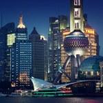 Shanghai at night, China — Stock Photo #54234085