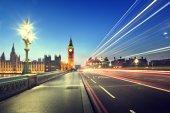 Big Ben from Westminster Bridge, London — Stock Photo