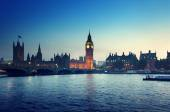 Big Ben and Westminster at sunset, London, UK  — Stock Photo