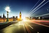Big Ben from Westminster Bridge, London — Stock Photo