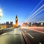 Big Ben from Westminster Bridge, London — Stock Photo #57609353