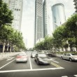Street  in Shanghai Lujiazui,China — Stock Photo #66191475