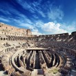 Inside of Colosseum in Rome, Italy — Stock Photo #75469773