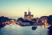 Notre dame de paris, Francja — Zdjęcie stockowe