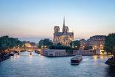 Notre dame de paris, Frankrijk — Stockfoto