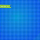 Graph, millimeter paper blueprint. Seamless — Stock Vector